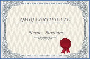 QMDJ sertifikatai Rytų mokslai
