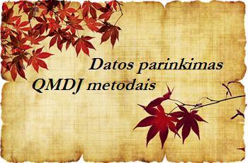 Datos parinkimas QMDJ metodais